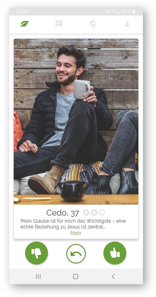 KandidatInnen auf christlichen Dating Apps